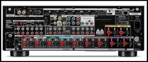 Denon AVR-X4100W-3