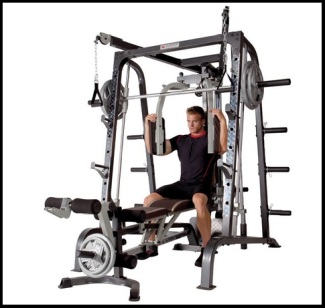 Marcy Diamond Elite Smith Machine-1